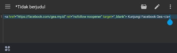 Cara membuat Hyperlinks