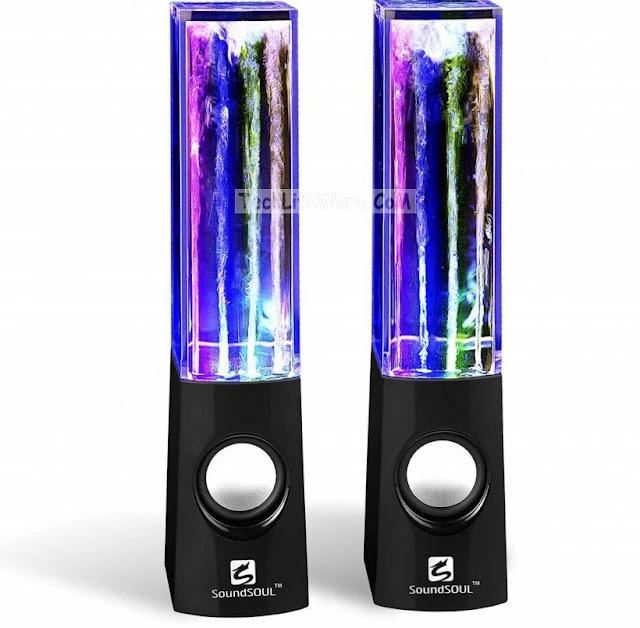 Generic 4-Colored Dancing Water Speakers