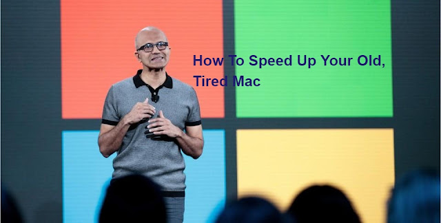 How To Speed Up Your Old, Tired Mac