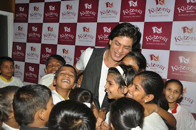 Shah Rukh Khan at KidZania's Children's Month celebration