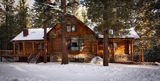 Image: Log Cabin Home, on Pixabay