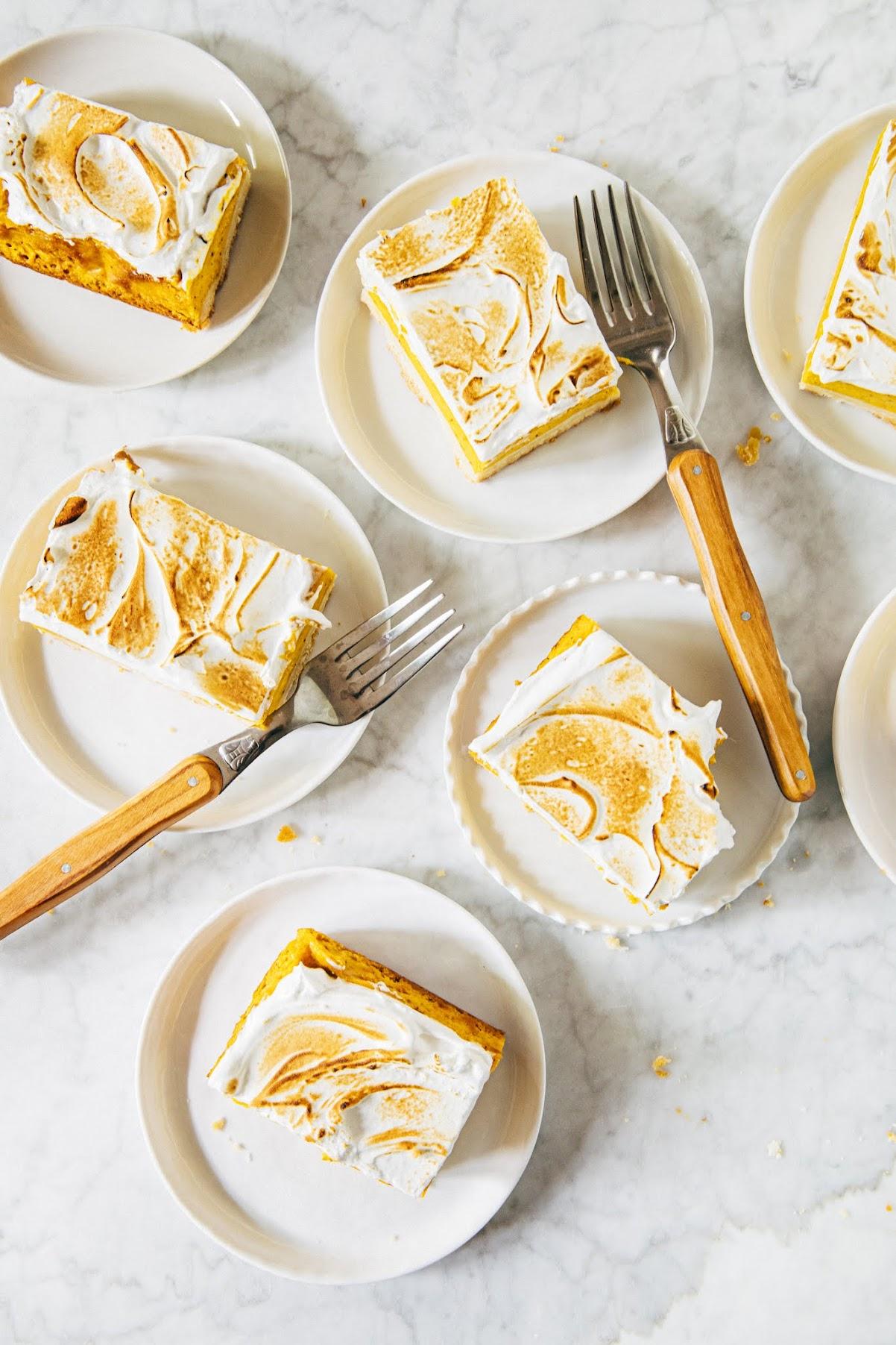 brown butter sweet potato bars