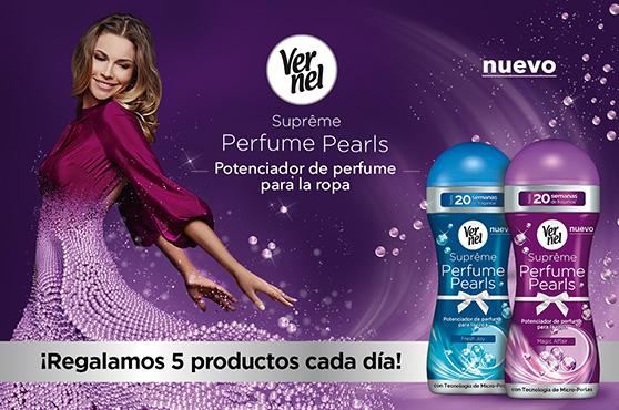 vernel perfume pearls sorteo