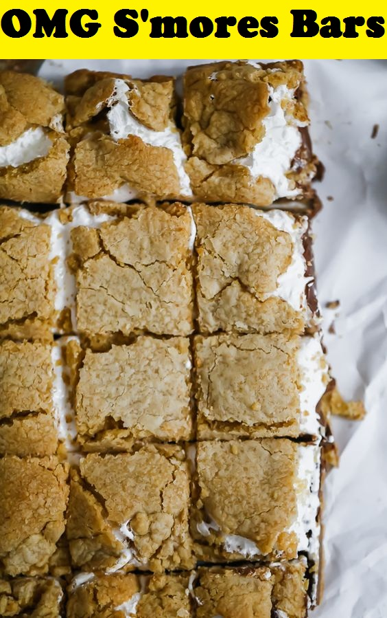 OMG S'mores Bars