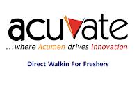 Acuvate-Software-walkin-freshers