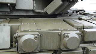 Комплекс активной защиты (КАЗ) «Заслон» на Т-64БВ