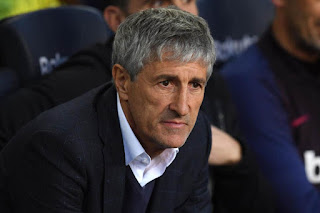 Setien: 'I have never thought about leaving Barcelona'