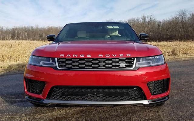 Range Rover Sport 2020 có phần thiết kế đầu xe vuông vắn