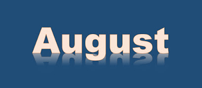 August 2020 Calendar Empires and Puzzles graphic