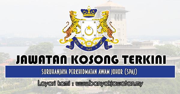 Jawatan Kosong 2019 di Suruhanjaya Perkhidmatan Awam Johor (SPAJ)