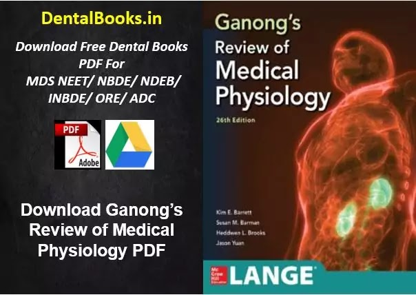Download Ganong's Review of Medical Physiology 2019 PDF
