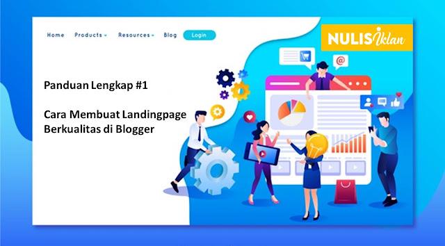 Cara membuat Landingpage Berkualitas