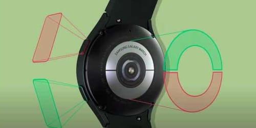 Galaxy Watch 4 calculates body fat percentage