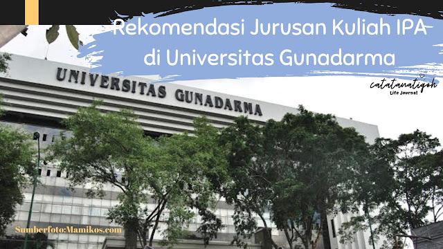 jurusan-kuliah-IPA-Gunadarma