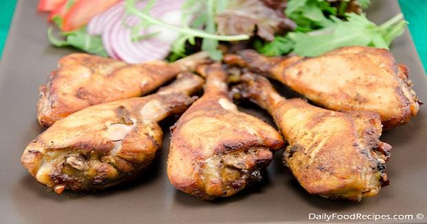 Spicy Roast Chicken Legs Recipe