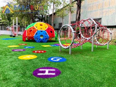 桃園市觀音區上大國小兒童遊戲場改善計畫-C區後方高年級體能遊戲場採購案