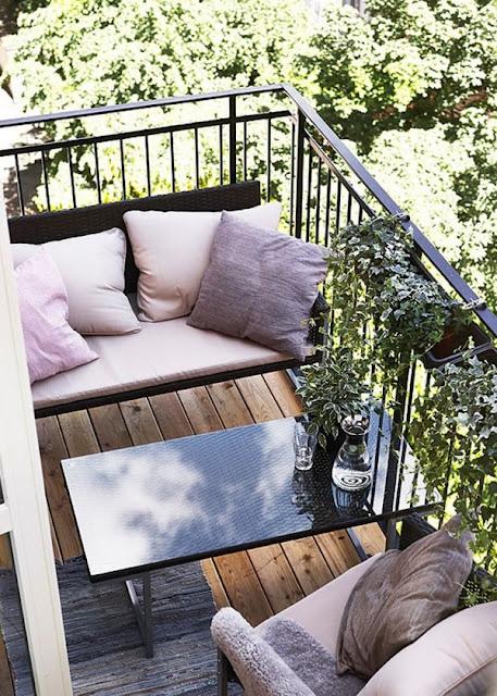 Dekorasi Balkon Cantik Minimalis