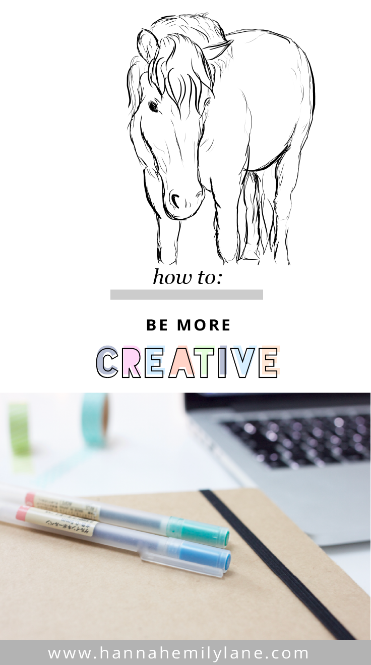 How to be more creative - 7 useful tips | www.hannahemilylane.com