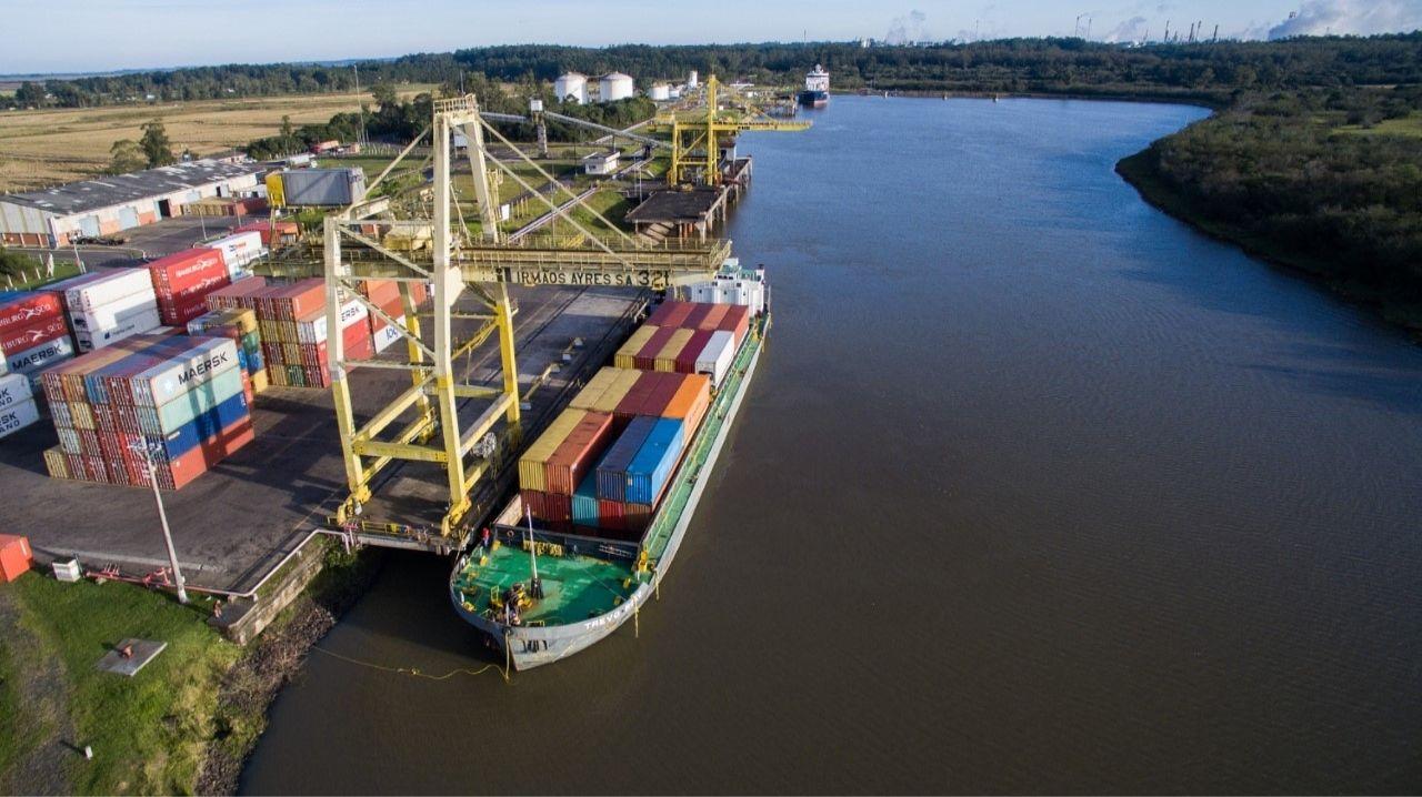 Sustentável e seguro, modal fluvial é aposta de indústrias no Rio Grande do Sul