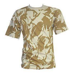 Boys Desert Camo Tshirt