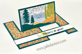12 March 2021 Paper Pumpkin: Here's to You Alternative Projects + VIDEO ~ www.juliedavison.com #stampinup #paperpumpkin