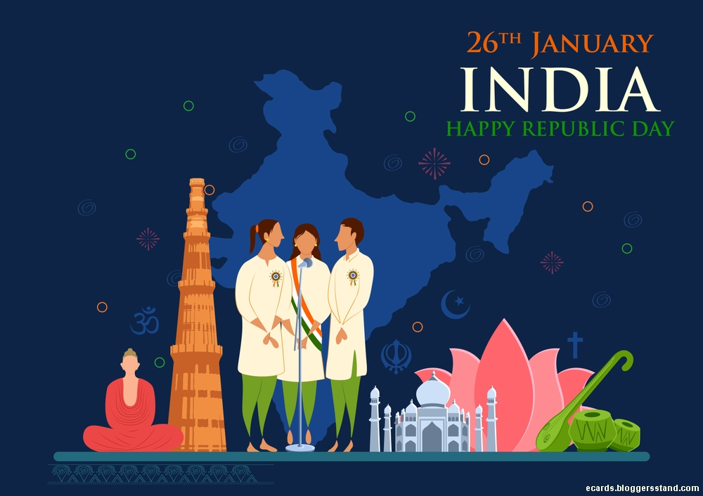 26th january Happy republic day 2021 wishes