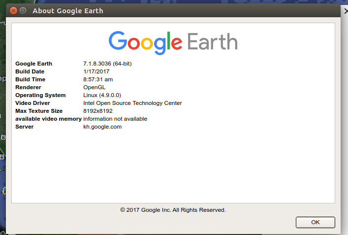Install google earth 718 on ubuntu and linux mint ubuntu maniac whats new in google earth 7183036 gumiabroncs Images