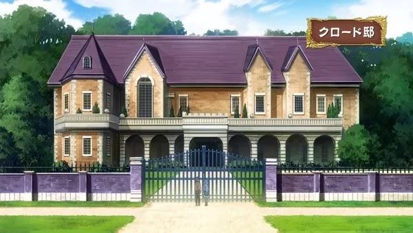 Tempat tinggal Orang Tua Sicily di Anime Kenja no Mago Episode 9