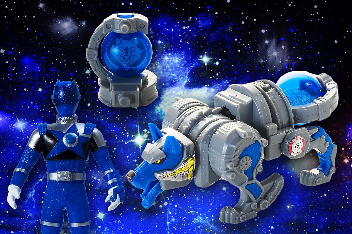 ミニプラ 宇宙戦隊キュウレンジャー キュータマ合体シリーズ01 キュウレンオー [3.オオカミボイジャー](単品)