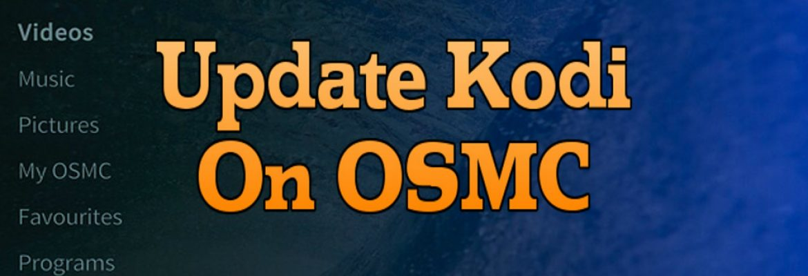 how to get to osmc from kodi