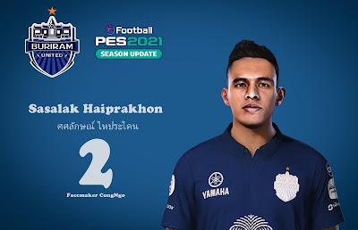 PES 2021 Faces Sasalak Haiprakhon by CongNgo