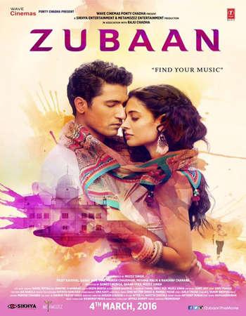 Zubaan 2016 Hindi 550MB HDRip 720p HEVC
