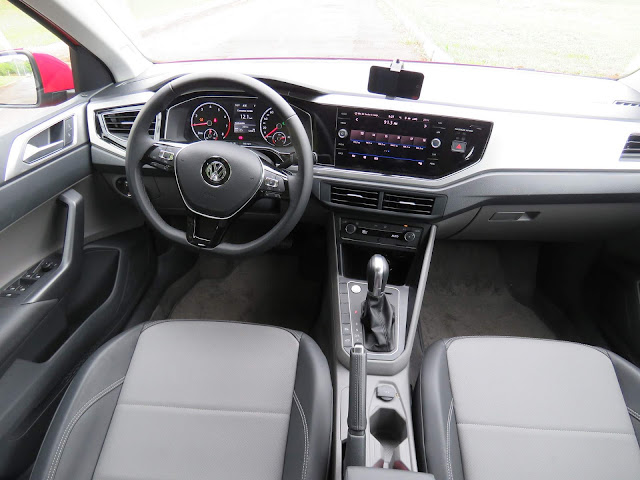 VW Polo 200 TSI 2018 - interior