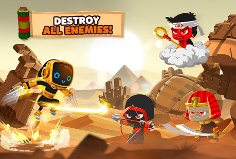 Game Offline Android Terbaik 2019 – 2020 ninja fighting pertarungan