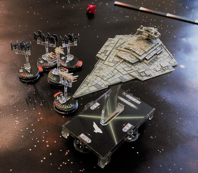 Star Wars: Armada X-Wing squadron engages Imperial forces