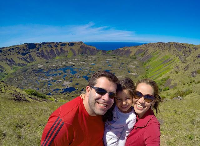 Ilha de Páscoa com crianças
