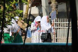 Ratusan Santri Ikuti Kirab di Hari Santri Nasional