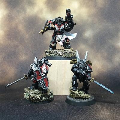 Horus Heresy Dark Angels Praetors and Legion Champion