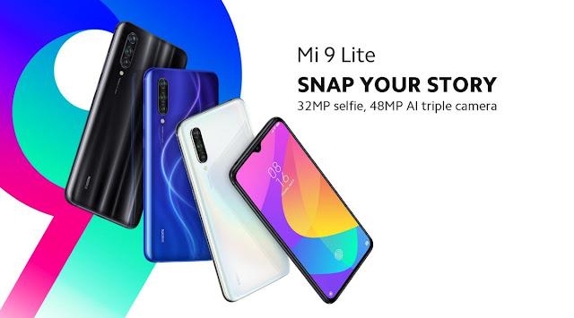 مواصفات وسعر هاتف شاومي Mi 9 lite || مميزات وعيوب هواوي مي 9 لايت