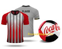"""Logo Concorso Coca-Cola """"The Italian League"""" : vinci gratis 85 Palloni e 30 Maglie Calciatore Serie A"""