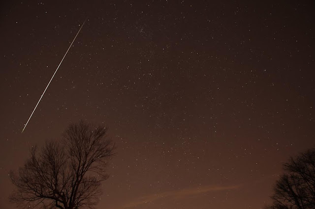 chuva de meteoros Geminidas 2015