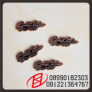 PLAT LABEL ZINC ALLOY | PLAT LABEL ZINC ALLOY MERK HIJAB | PLAT LABEL HIJAB