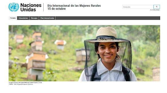 Mujeres rurales en el mundo