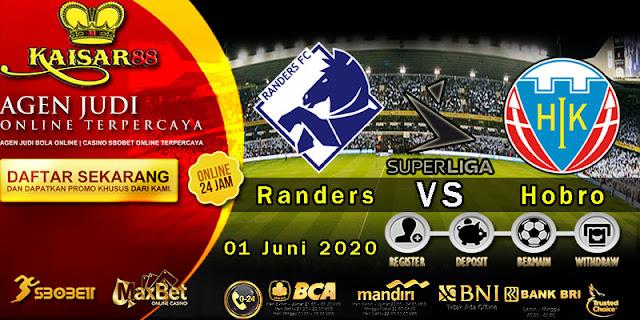 Prediksi Bola Terpercaya Liga Denmark Randers vs Hobro 01 juni 2020