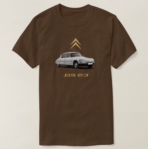 CItroën DS 23 t-shirt white