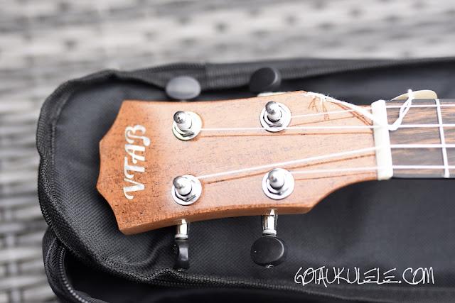 VTAB FL-T15 Tenor ukulele headstock
