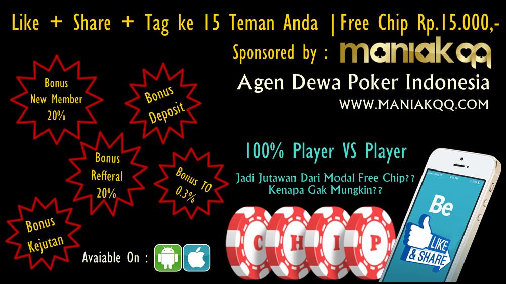 Free Chip Poker Tanpa Deposit