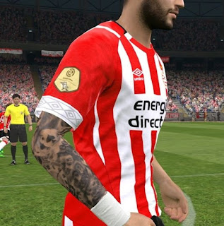 PES 2017 Tattoopack vol 1 by Dewatupai