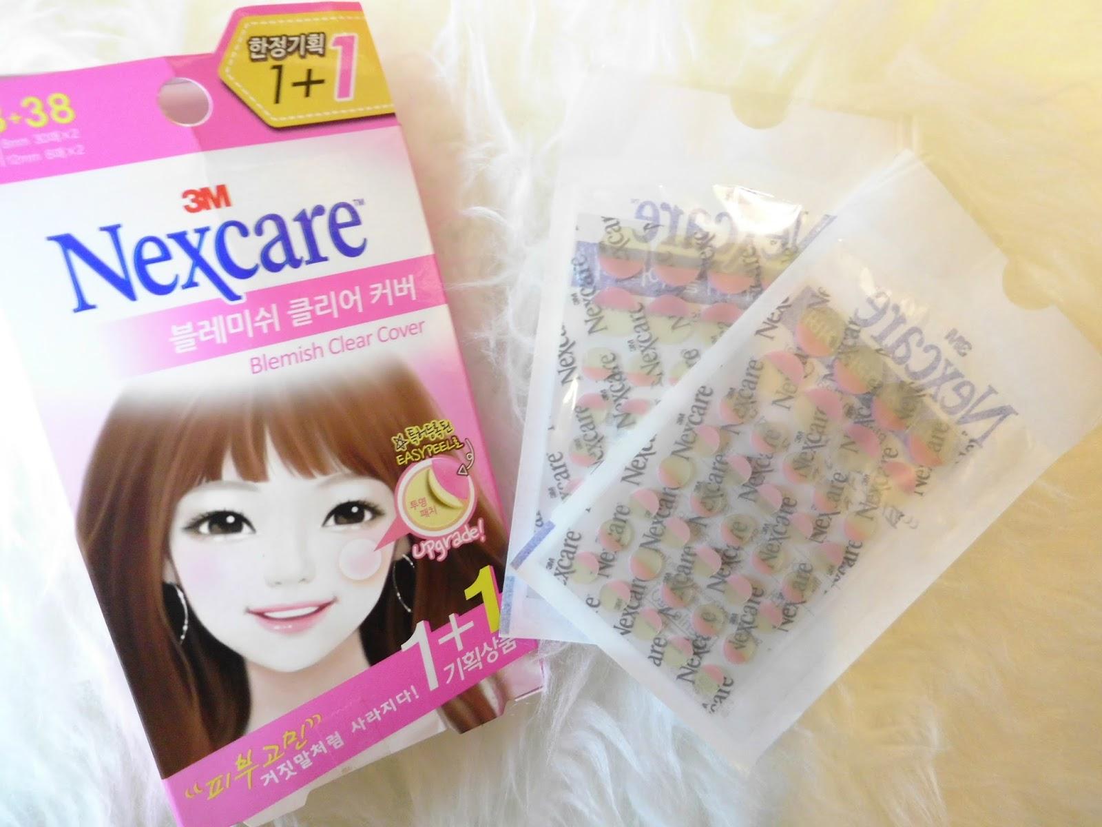 Nicole Lau K. W. Blog: 有膿暗瘡之急救篇 - 3M Nexcare 荳痘隱形貼