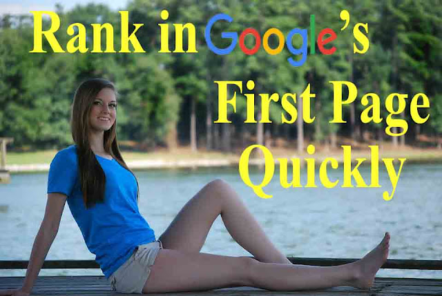 Rank Website Google's First Page